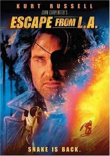 1 of 1 - Escape From L.A. (DVD, 2003)