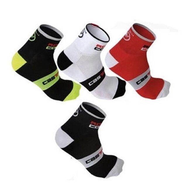 New Men's Women's Riding Cycling Socks Bike Sports Socks Breathable