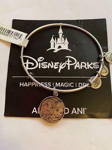 Disney Parks Alex and Ani Anna Elsa Frozen Silver Bracelet Charm New by Alex and Ani