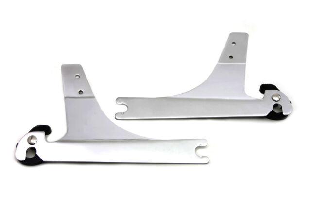 Sissy Bar Detachable Side Plates For Harley Dyna Fxd