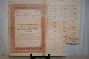Ancienne Action Des Charbonnages De Ham-sur-sambre De 1889. Ojbuh6gd-07223654-717442772