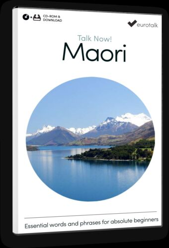 Download option and CD ROM Eurotalk Talk Now Maori for Beginners