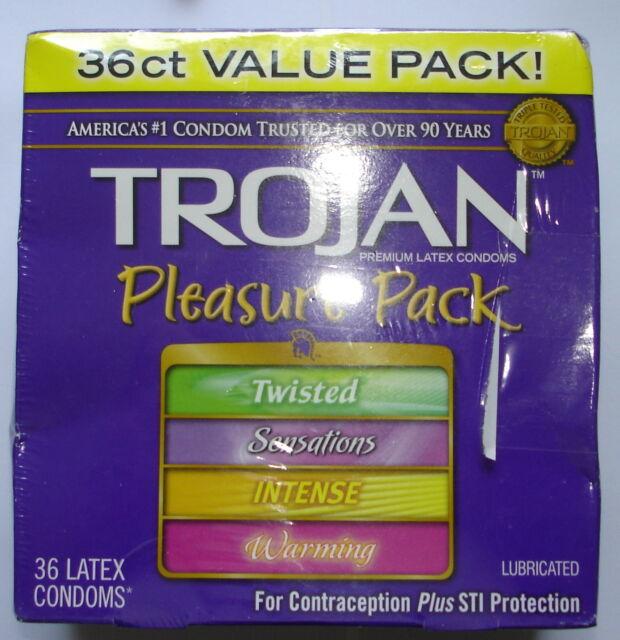 Best Condoms 2020.75 Trojan Pleasure Pack Condoms 08 2020 2 Re Sealed Boxes F