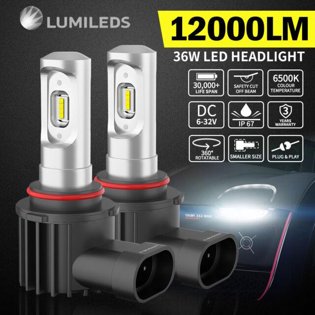2x PHILIPS 36W 9005 HB3 LED Headlight Bulb Kit Replace Xenon Halogen Globe White