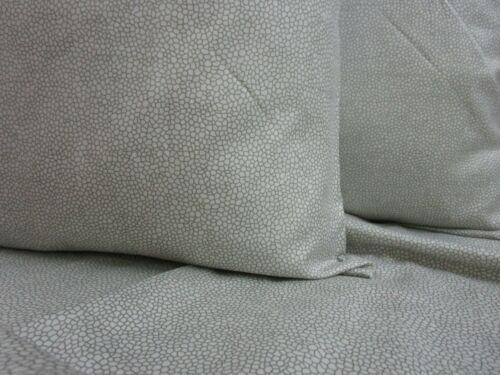 Amie Mako-Satin Linge De Lit Corado 8946-11 gris motif florales