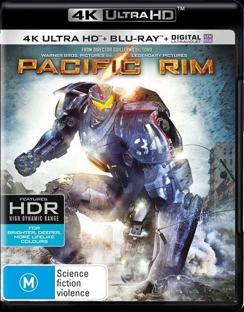 Pacific Rim 4k ultra hd blueray movie