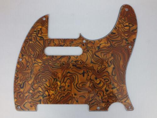 Bronze Gehäuse Effekt Schlagbrett Schlagbrett Passend für Telecaster Gitarre