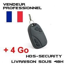 Mini Keychain Camera Spy + Micro SD HC 4 Gb Kingston Beep Car Key Keys