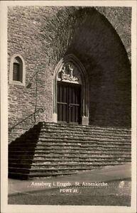 ANNABERG-Annenkirche-AK-Hofphotograph-Meiche-alte-Postkarte-Ansichtskarte