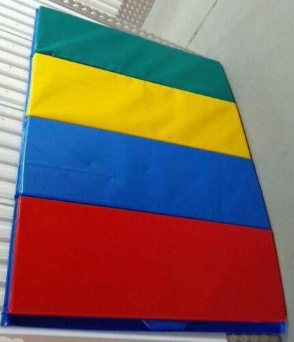 180cm x 120cm Colourful Floor Crash Mat Exercise Tumbling Fitness Gym