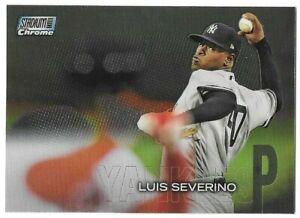 Luis Severino 2018 Topps Stadium Club Chrome #SCC-211 New York Yankees Parallel