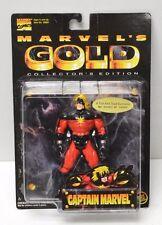Toy Biz Marvel's Gold 1997 Captain Marvel Mar-Vell Action Figure NIP  #63/10000