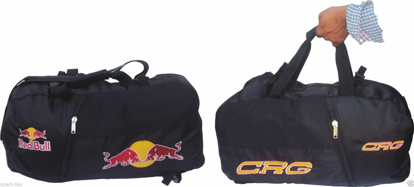 RedBull & CRG Sports Bags