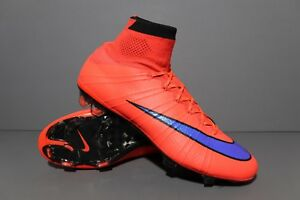 size 40 1697b e33e5 Details about Nike Mercurial Superfly IV FG Sz 10 (Ref: Vapor X III IV V IX  VII Fury XII CR7)