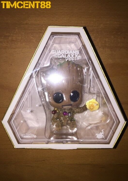 Hot Toys 2017 VIP VIP VIP Christmas Gift Guardians of the Galaxy Baby Groot Cosbaby cfa80d