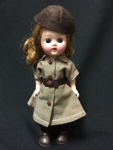 Vintage-Ginger-Doll-in-Terri-Lee-Brownie-Scout-Uniform-Outfit-GREAT-Condition