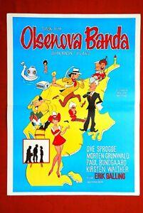 OLSEN-BANDEN-I-JYLLAND-DANISH-OVE-SPROGOE-GRUNWALD-1971-RARE-EXYU-MOVIE-POSTER