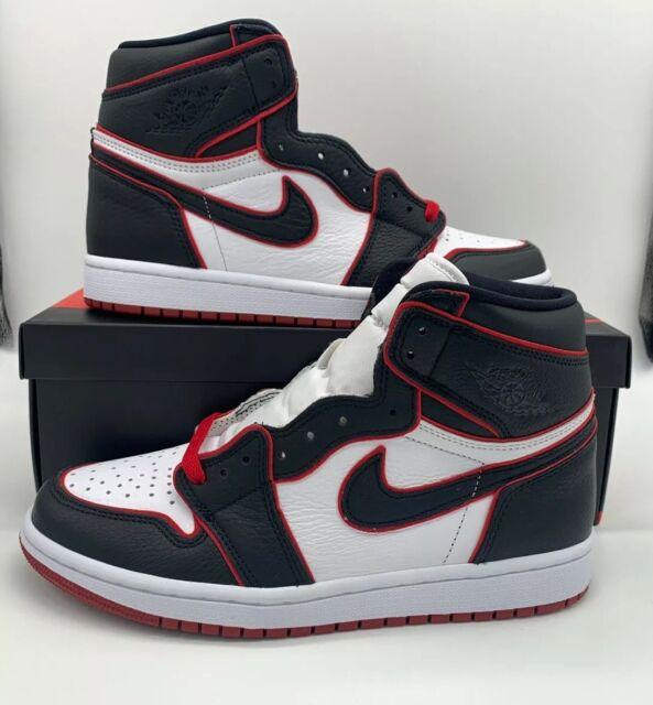 Nike Air Jordan 1 Retro High OG Bloodline Red Size 14 555088-062