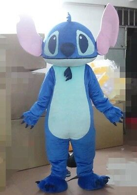 New Lilo Stitch Mascot Costume Halloween Cosplay Party Game Dress Adult Outfit Ebay