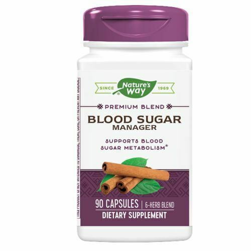 Blood Sugar 90 Caps  by Nature's Way