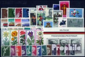 BRD-postfrisch-1975-kompletter-Jahrgang-in-sauberer-Erhaltung