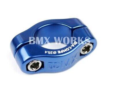 Genuine Dia-Compe MX1500N 25.4mm Seat Clamp Dark Blue Old School BMX