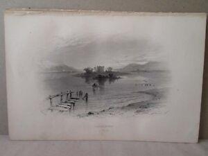 Have An Inquiring Mind Vintage Print,lochleven,bartlett,c1860 Fine Workmanship Art