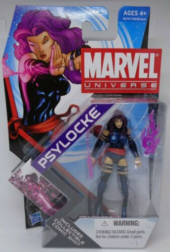 Hasbro Marvel univers Série 2011 4 005 PSYLOCKE Figurine Uncanny X-Men X-Force