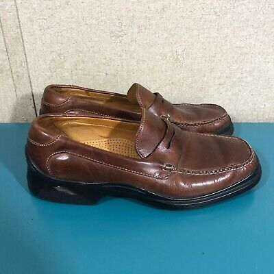 Cole Haan Leather Slip On Penny Loafers Brown Men's Size ...