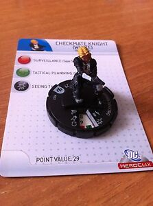 HeroClix Brave and the Bold #007 CHECKMATE KNIGHT (WHITE)  DC