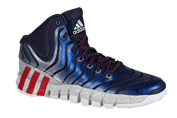 Adidas Adipure Crazyquick 2 Hi-Top Basketball Sports Fitness hommes Trainers