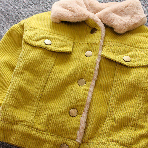 Winter Infant Baby Boys Clothes Warm Cotton Coats Kids Boy Jacket Coat Outerwear