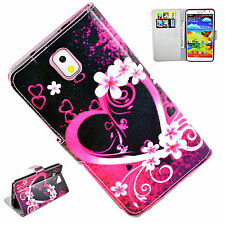 Wallet Style PU Leather Case Cover Stand For Samsung Galaxy Note 3 III N9000