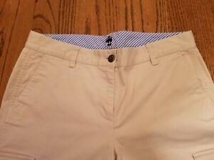 Brooks-Brothers-1818-Beige-Khaki-Women-039-s-Cargo-Pants-Size-4-NWOT