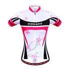 New Summer Women Cycling Bike Bicycle Short Sleeve Jersey Wear T-Shirts Tops