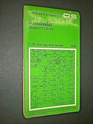 Axminster. Ordnance Survey Map 1973. 1:25 000. 2nd Series. Sy 29/39. Paper Bestellingen Zijn Welkom.