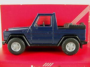Herpa-2084-Mercedes-Benz-300-GE-Cabrio-1990-in-blau-1-87-H0-NEU-OVP