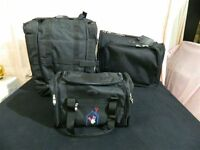 High End Sedona Golf Travel/carrying Bag System Iii Set Of 3 Bags/luggage