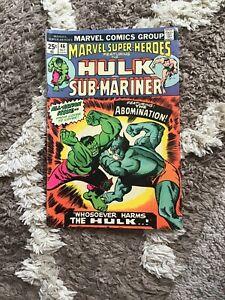 Hulk-And-Sub-Mariner-46-Oct-1974-Mrvel-Comics
