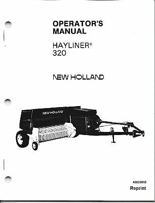 New Holland 320 Square Baler Operator Manual 42032015 | eBay