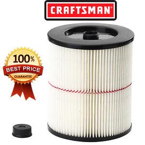 Craftsman Wet Dry Vac Parts >> NEW Craftsman General Purpose Red Stripe Vac Cartridge Filter 17816 | eBay
