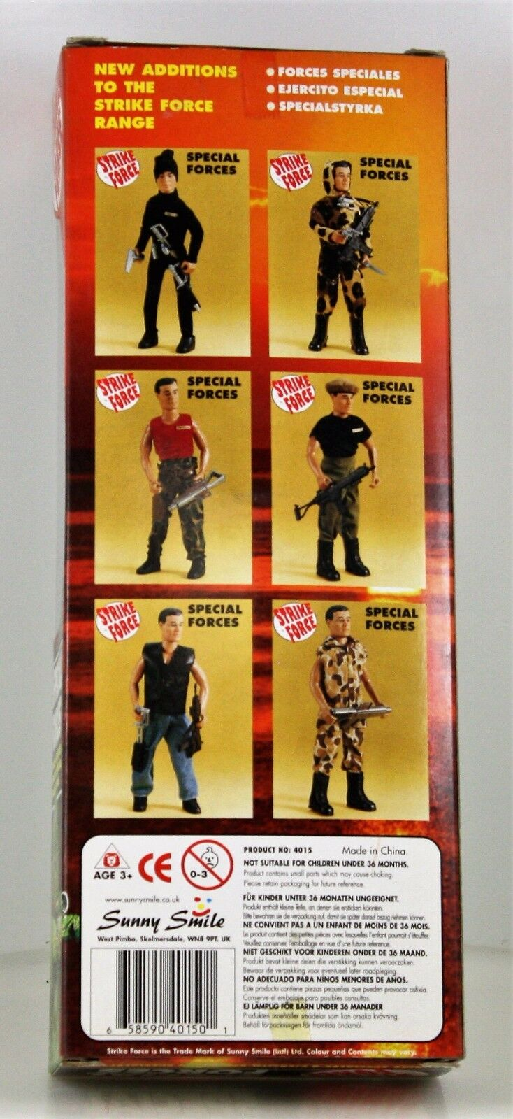 Strike Force Special Forces 12  Action Figure NIB Sunny Sunny Sunny Smiles s 553fc6