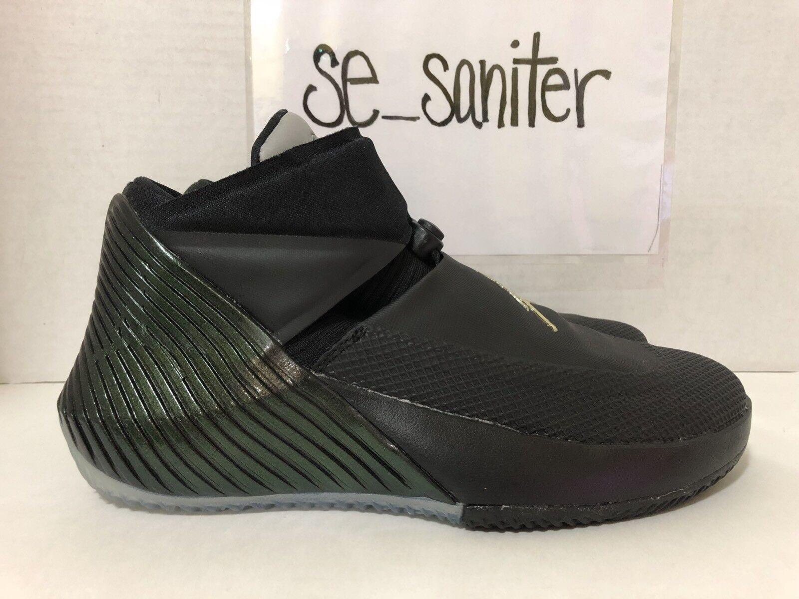 Nike air jordan, perche 'non zer0.1 011 nero verde iridescente aa2510 011 zer0.1 numero 9 del campione 38844a