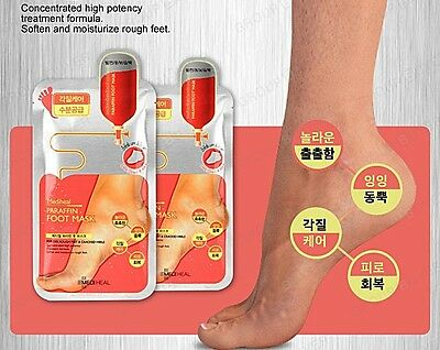 Korea Cosmetics MEDIHEAL Paraffin Foot Mask Sheet 1 pcs