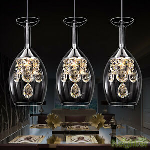 Modern crystal wine glasses chandelier ceiling lights pendant lamp image is loading modern crystal wine glasses chandelier ceiling lights pendant aloadofball