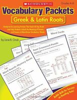 Vocabulary Packets: Greek And Latin Roots: Ready-to-go Learning Packets That Tea on sale