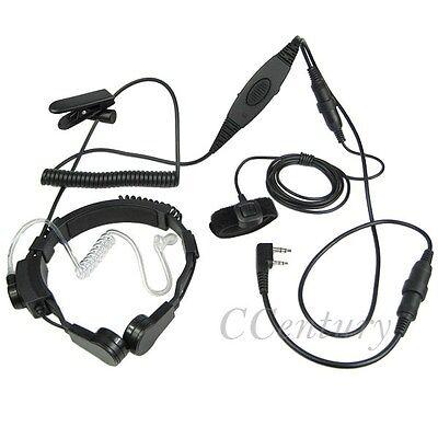 GT-3TP UV-5X UV-5RTP Radio FBI Earpiece Headset PTT Mic for BaoFeng BF-F9 V2