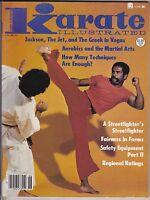 Vintage Karate Illustrated Magazine-june,1980