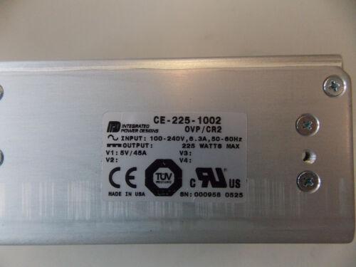 Ce-225-1002 Bloc d/'alimentation ovp//cr2 5vdc//45a