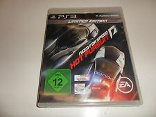 PlayStation 3 PS 3  Need for Speed: Hot Pursuit - Limited Edition